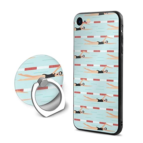 promo code 0d779 df7e1 Amazon.com: iPhone 8 Case/iPhone 7 Case (4.7 Inches) Swimming Pool ...