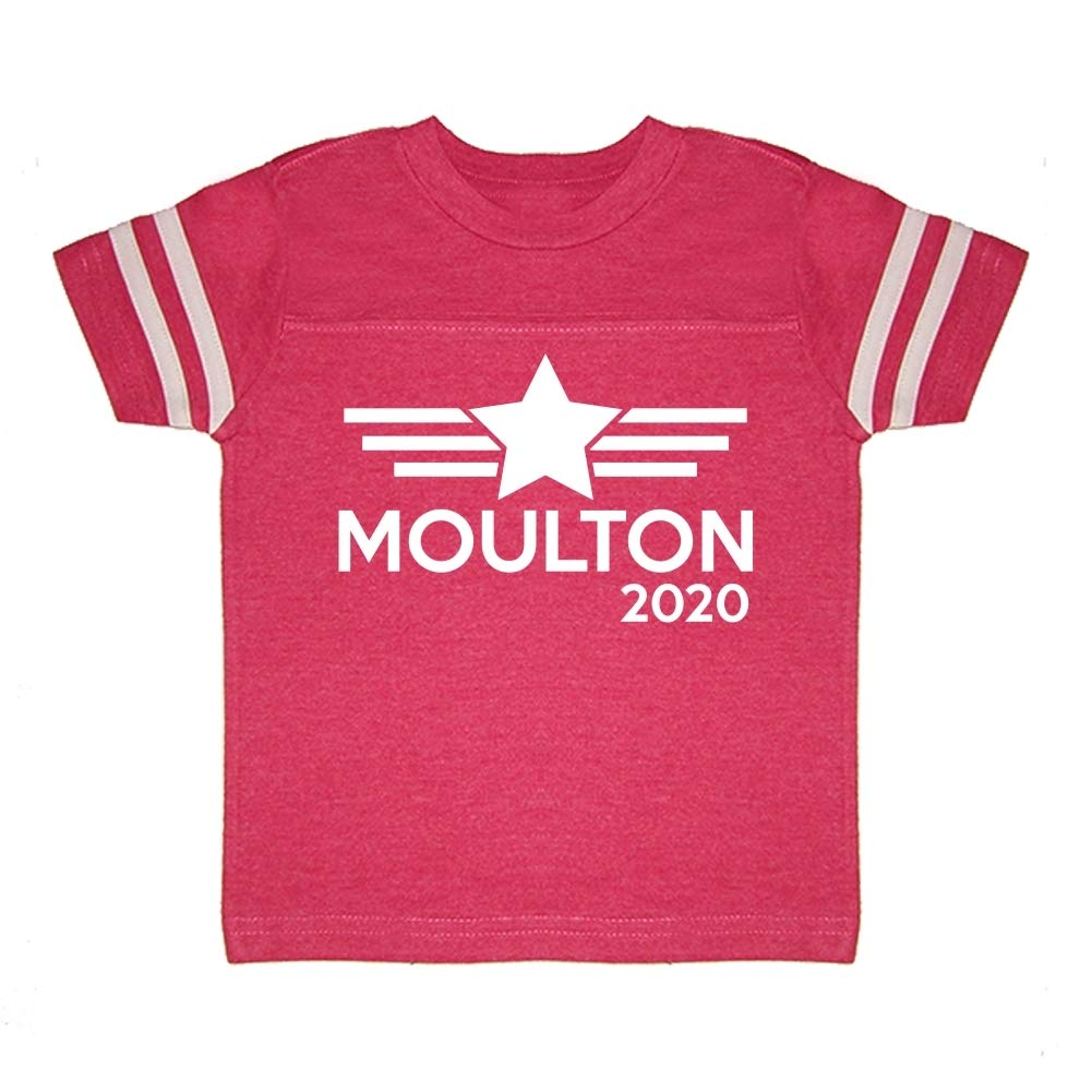 Mashed Clothing Moulton 2020 Presidential Election 2020 Toddler//Kids Sporty T-Shirt