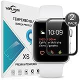 Apple Watch 2 Serie 42mm Pellicola Protettiva,[2-Pack] VIFLYKOO Apple Watch 2 Serie Vetro Temperato Durezza 9H Premio di Protezione Pellicola Schermo per Apple Watch 2 Serie [iWatch 42mm] Smartwatch Flim Protection