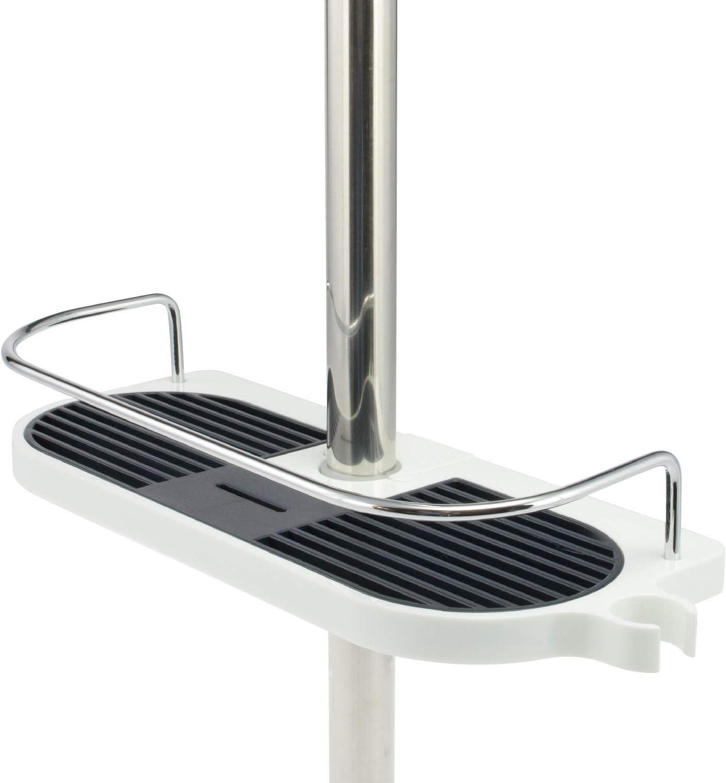 Repisa para columna de ducha bremermann, plástico, diámetro entre ...