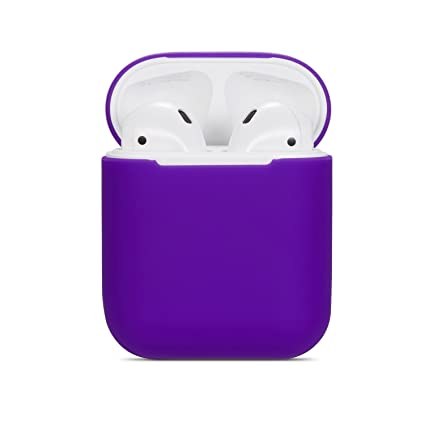 competitive price 32f19 7a9c4 Amazon.com: Airpods Case Soft Silicon Skin and Cover with Utral Slim ...