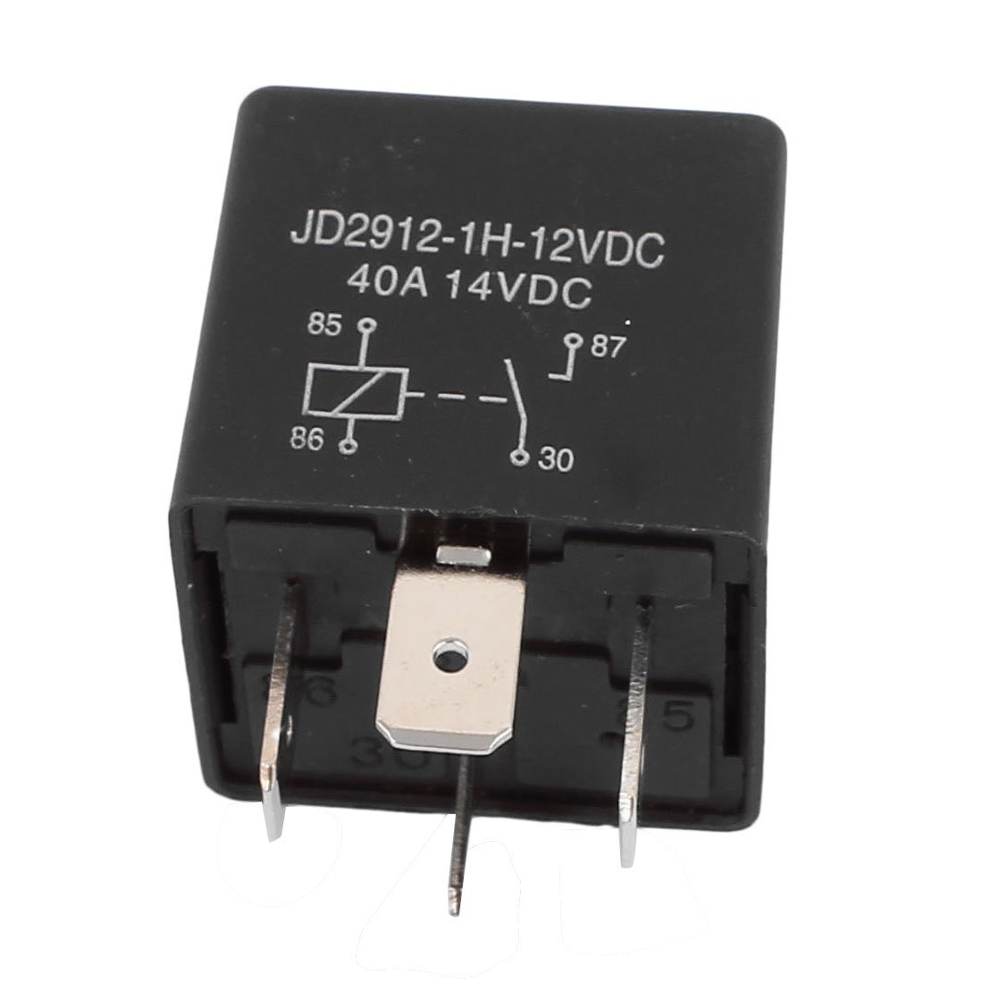 uxcell JD2912 DC 12V Coil 40A 4 Pins SPST Vehicle Car Security Power Relay 5pcs