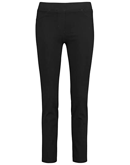 GERRY WEBER Edition Damen 92319 67910 Skinny Jeans, Grau