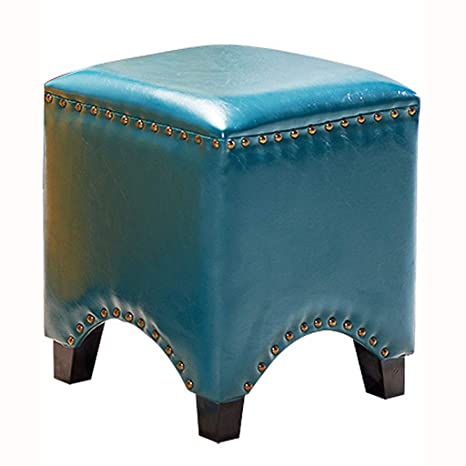 Surprising Amazon Com Yxsd Leather Pier Footstool Sofa Stool Small Andrewgaddart Wooden Chair Designs For Living Room Andrewgaddartcom