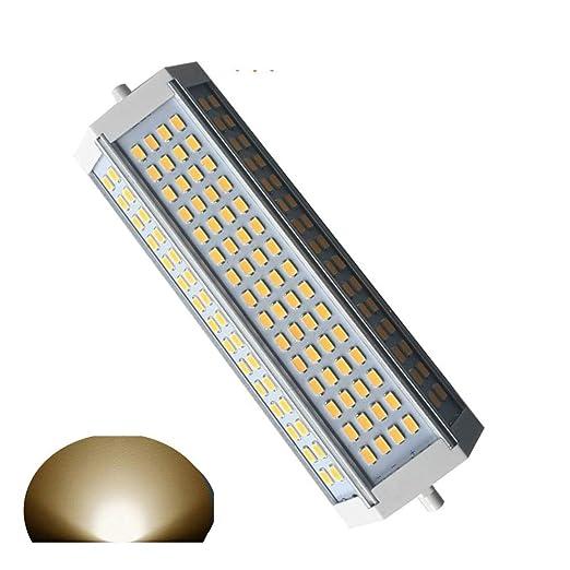 Generic R7S LED regulable bombilla 50 W luz cálida 3000 K foco LED R7S 189mm de