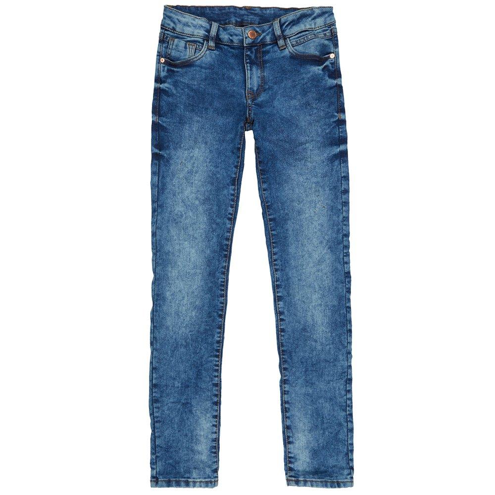Damen Skinny Fit Jeans im Stone Washed Look Takko Fashion
