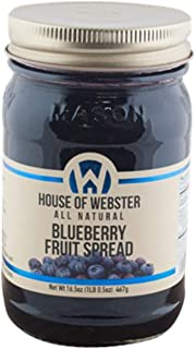 product image for House of Webster Blueberry Fruit Spread - 16.5 oz