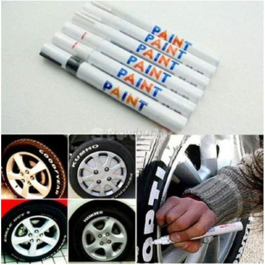 Purple Paint Marker Oil Based Waterproof Pen Wood Glass Plastic Tyre Rubber G