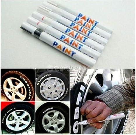 Universal Car Tyre Tire Pen Permanent Tread Waterproof Rubber Metal Paint Marker