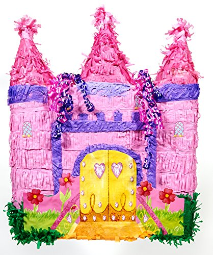 Ya Otta Pinata Pink Castle (Pinatas For Girls)