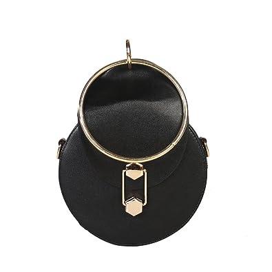 bdb59c4668 SALE SALE!!!Women Girls Circular Leather Crossbody Bags Messenger Shoulder  Bag On Sale Beautytop Women S Fashion Thread Flap Hasp Handbags