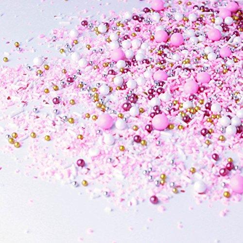 Pink Velvet Sprinkle Mix