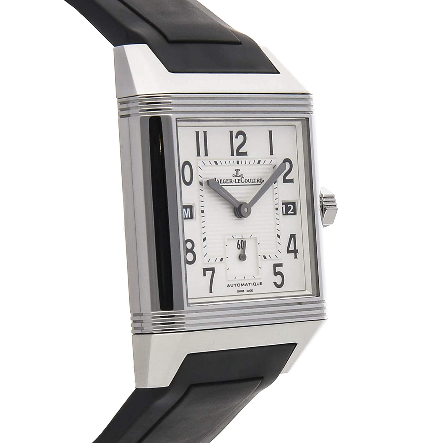 Amazon.com: Jaeger-LeCoultre Reverso Mechanical (Automatic) Silver Dial Mens Watch Q7008620 (Certified Pre-Owned): Jaeger-LeCoultre: Watches