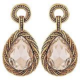 Maayra Special Designer Earrings Bronze Dangler Drop College Fashion Earrings