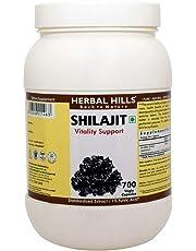 Herbal Hills Shilajit 375mg, 700 Vegie Capsules