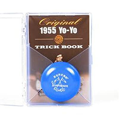 Duncan Vintage 1955 Tournament Replica Yo-Yo Gift Box - Blue: Toys & Games