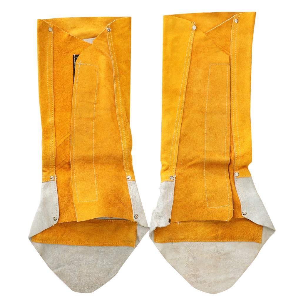Sharplace Polainas de Soldadura de Cuero Protector Cubierta Zapato Accesorio de Equipamiento Industrial: Amazon.es: Bricolaje y herramientas
