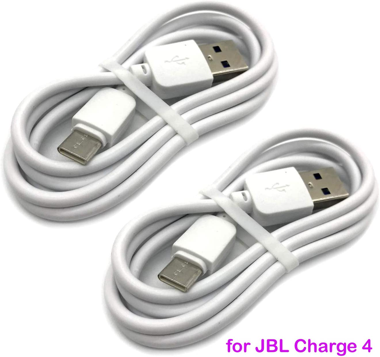 Samsung Galaxy S10 2PACK Jr Pop Speaker DGSUS JBL Flip 5 Endurance Peak Portable Wireless Bluetooth Speaker Type C Power Cord Charger Cable Replacement fit for JBL Charge 4