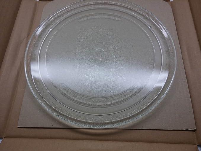 Plato Giratorio de Cristal Diámetro 27 cm para microondas ...