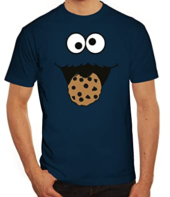 0751c447b03d Lustiges Herren T-Shirt Blue Monster  Amazon.de  Bekleidung