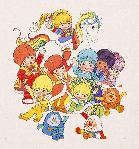 Rainbow Brite and Colour Kids Tote Bag
