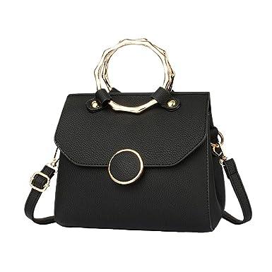 Frauen Gezeitenpaket Frauen Stereotypen Mode Atmosphäre Damen Tasche Schultertasche Messenger Bag,Grey-OneSize GKKXUE