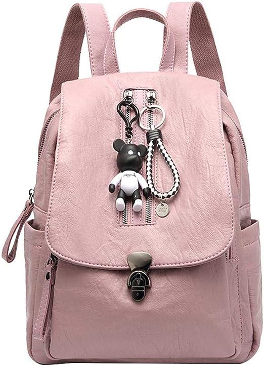 leap-G Mochila Mujer, Outdoor – Mochila Mode Mochila Escolar, Mujer Mochilas, Premium Pack Juego de Bolsas para Viaje, Excursión y Ocio Rosa: Amazon.es: Hogar
