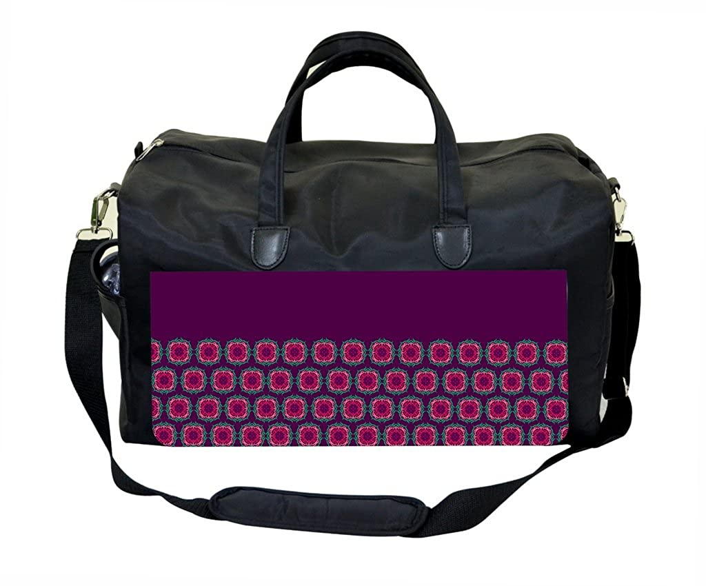 PURPLE Half Pattern Therapist Bag