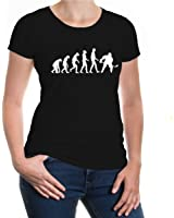 buXsbaum® Girlie T-Shirt The Evolution of Ice Hockey