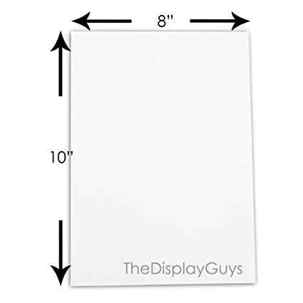 Amazon.com - The Display Guys, Pack of 10, 8x10 Inches Picture Mat ...
