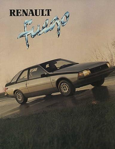 1982 Renault Fuego Brochure Canada