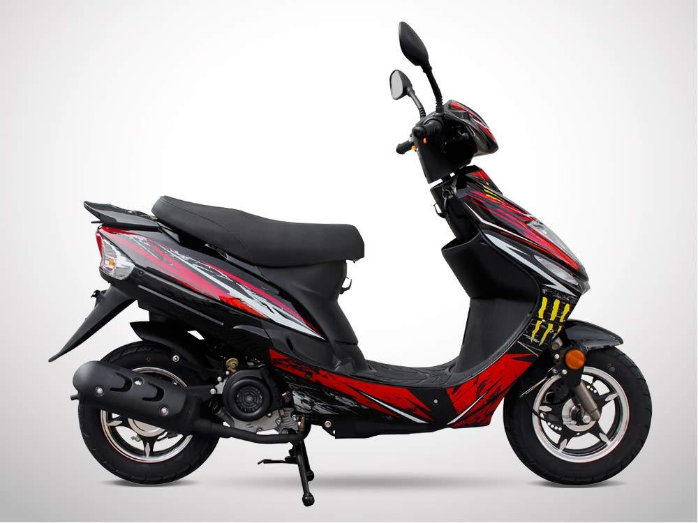 SPIRO 50 Scooter 50cc 4T Rouge /Édition Limit/ée 2019 JIAJUE