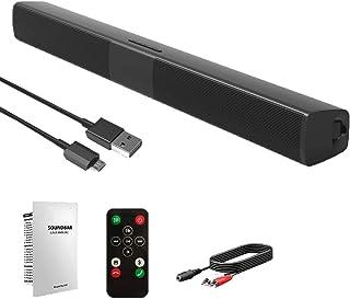 Ben-gi 4.2 di Bluetooth Sound Bar Wireless e Wired Audio Home Theater Soundbar 20W dell'altoparlante TV/PC/Cellulari/da Gioco