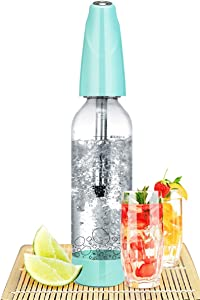 FDYD Drink Mate Mini Hand Held Carbonated Soda Maker, 1 Liter