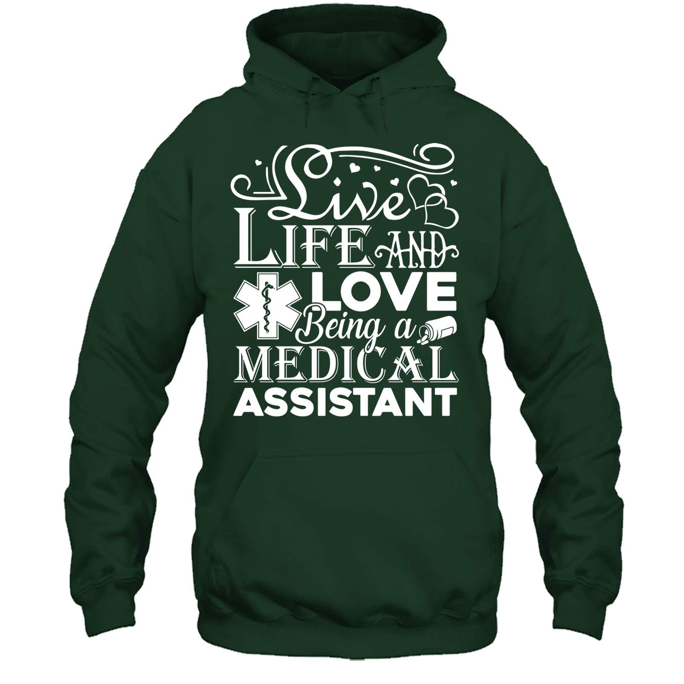 Love Being A Medical Assistant Tshirt Medical Assistant Cool Tee Shirt