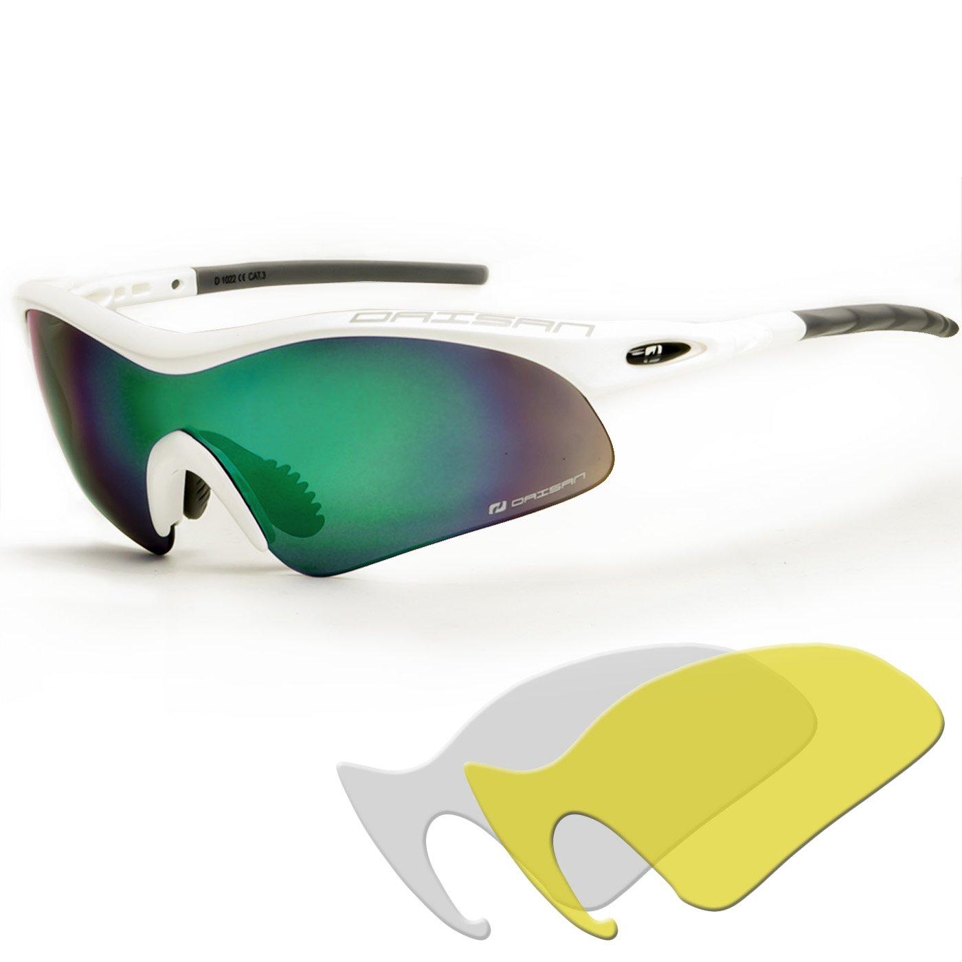 Daisan 360 Radbrille mit Wechselscheiben