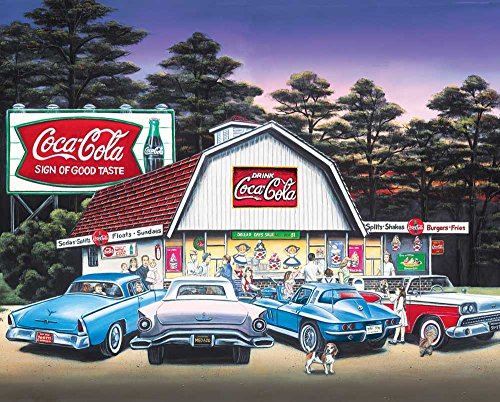 Springbok Puzzles - Night on the Town - 1500 Piece Jigsaw Puzzle - Large 36 Inches by 28.75 Puzzle - Made in USA - Unique Cut Interlocking Pieces