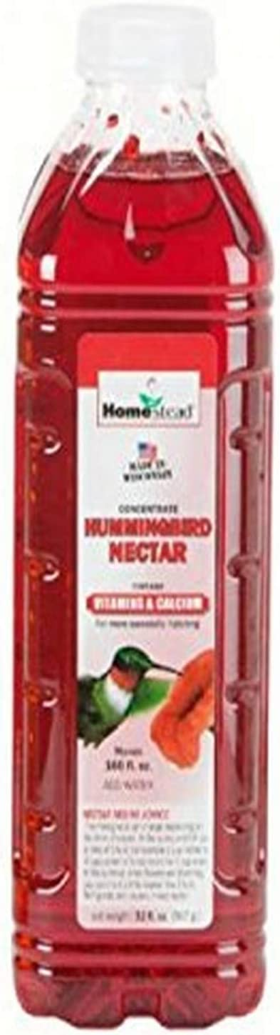Homestead 32 oz Hummingbird Red Nectar Concentrate (Liquid) - 4371