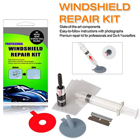 Windshield Repair Kit >> Arisd Car Windshield Repair Kit Windshield Glass Repair Tool Set For Half Moon Cracks Or The Combination Cracks