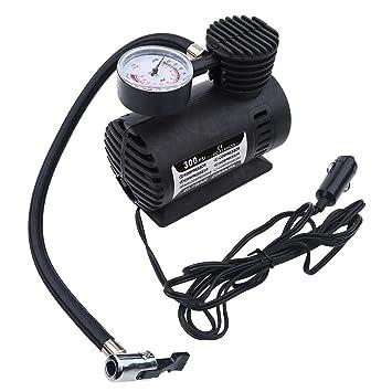 Compresor de aire - 1 PC de Mini compresor de aire portátil, bomba eléctrica de inflado de neumáticos, 12 voltios, coche 300 PSI.: Amazon.es: Coche y moto