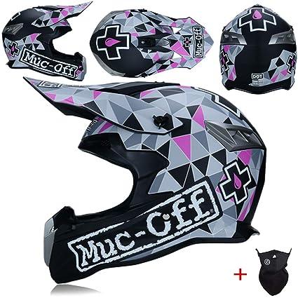 Amazon.es: Adulto Profesional Motocross Cascos ventilación de Alto ...