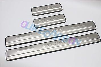 Luxury Steel Scuff Plate Side Door Sill Trim Fits For Nissan Qashqai 2007-2013