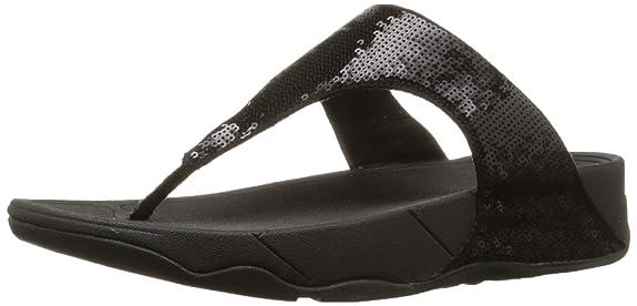 fitflop electra classic sequin flip-flop sandal