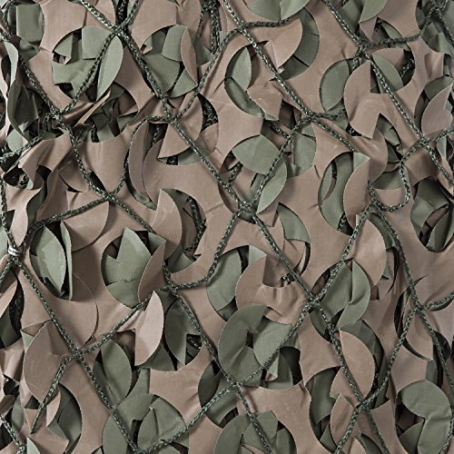 (CamoSystems Pro Series Military Camouflage Netting with Mesh Attached )