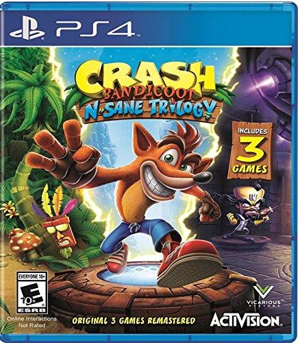 Crash Bandicoot N. Sane Trilogy - PlayStation 4 Standard Edition (Crash Bandicoot N Sane Trilogy 2 Player)