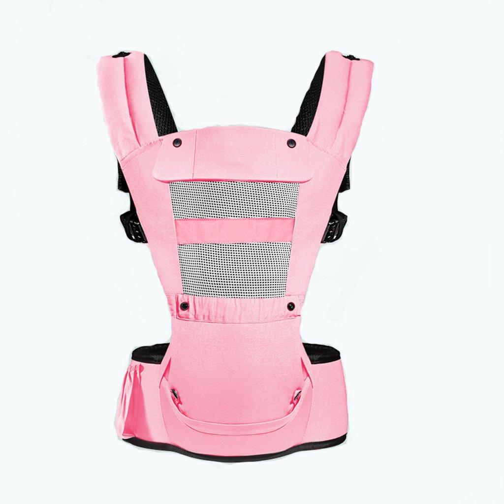 Baby-Größen-Schemel-Bügel-Multifunktions Vierjahreszeiten-Universalventilation 0-4 Jahre alt Baby-Fördermaschinen-Rucksack mit Sun Shade-Baby-Fördermaschinen Front und Rückseite (Farbe   C)
