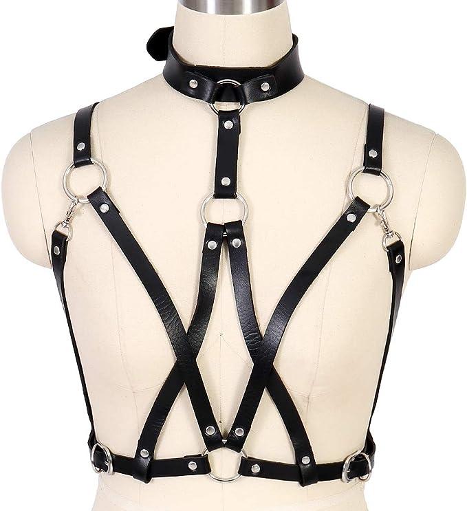 BBOHSS Cinturón Punk para Mujer Cinturón del Cuerpo Cadena Arnés ...
