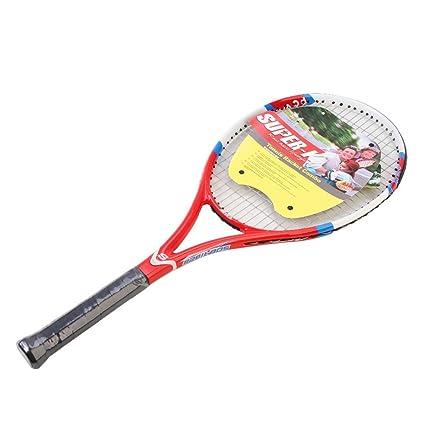 Amazon.com: Taiwanrns Super-K - Raqueta de tenis de carbono ...