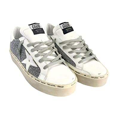 0e9bd4613c47 Golden Goose Deluxe Brand Hi Star Swarovski Crystals Women Sneakers  G33WS945.A3 Size 35 (
