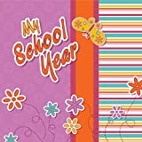 Hardcover Journal W/ Plastic Sleeve - My School Year, Delicious Stationery, 1415318824
